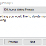 Journal2Day – Writing Prompts